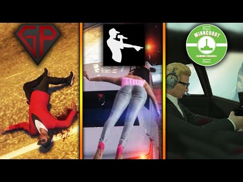 SKYDIVING!! GTA: Online w/ BobiBeatbox & Winncoot