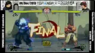 Wao (Oni) vs. Daigo Umehara (Ryu) - Demon vs God highlight