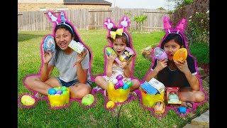 Easter Egg Hunt Kids Play Toys Surprise  Disney Princess, Minion & Paw Patrol | itsplaytime612