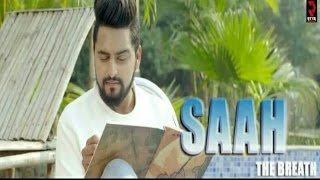 Saah-The Breath | Rajan Rajji | Latest Punjabi Song  | Full Video | Raftar Music Records