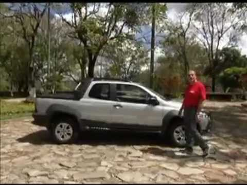Vrum testa o Fiat Strada Adventure Cabine Dupla