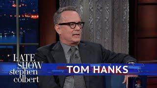 Tom Hanks And Stephen Argue Christmas Tree Technique