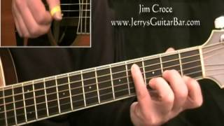 How To Play Jim Croce Time In a Bottle (Introduction only)