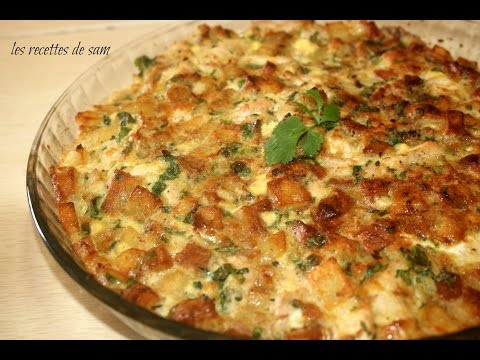 اطيب وصفة غرتان بالدجاج gratin au poulet