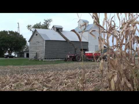 New Idea Corn Picker and Corn Crib