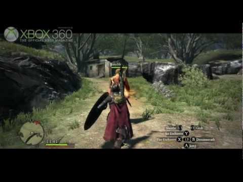Dragon's Dogma Gameplay - Mystic Knight - OXM