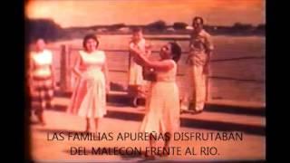 SENTIRSE APUREÑO!!! (MALECÓN FRENTE AL RIO APURE AÑO 1952)