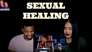 "JCHOSEN ""Sexual Healing"" The Voice 2017 Blind Audition - REACTION"