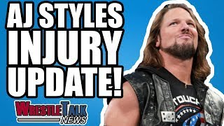 Daniel Bryan Backstage WWE Status, AJ Styles INJURY Update! | WrestleTalk News Mar. 2018