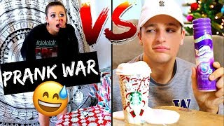 Boyfriend Vs. Girlfriend HOLIDAY PRANK WAR!!!