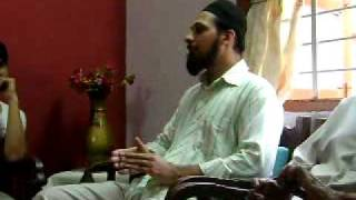 Islamic Lecture on The Last Day by Juned arranged by Touseef Part 1