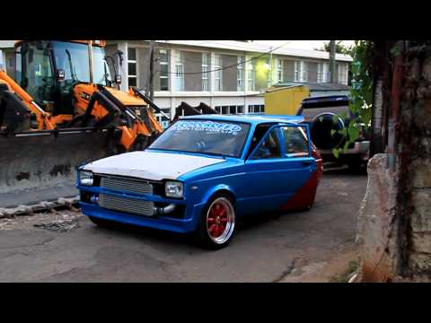 krossbreed toyota starlet crazzzzzy power