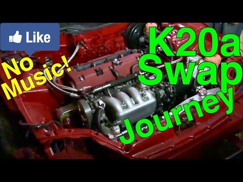 K20 Swap Civic Eg Midnight RR Prequel (Part 2) (BGM Mute)