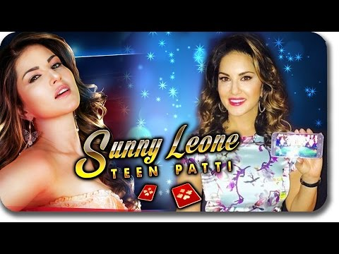 (UNCUT VIDEO) Sunny Leone Teen Patti - Android Game LAUNCHED