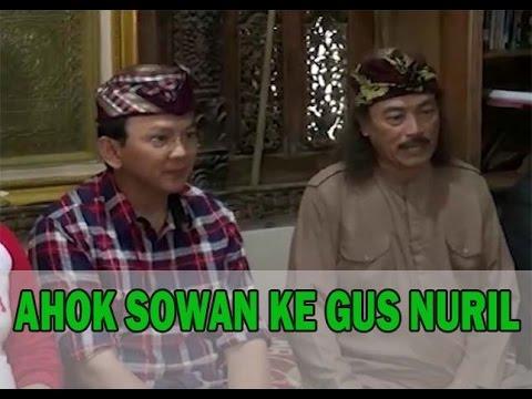 Ahok dan Gus Nuril di Pesantren Soko Tunggal, Sentil Fatwa MUI