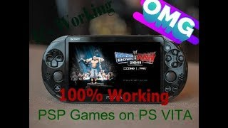 How to Install PSP Games on PS VITA || Latest 2018 (100% working ) on any PS VITA