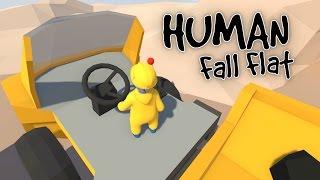 Human Fall Flat - Driving Heavy Machinery! - Let