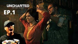 I DIDN'T GIVE CONSENT! | ImDontai Plays Uncharted Lost Legacy | Ep 1