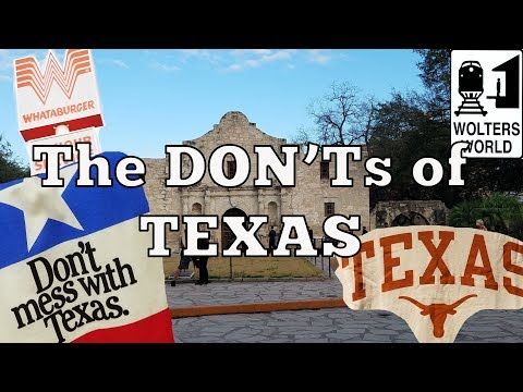 Xxx Mp4 Visit Texas The DON Ts Of Visiting Texas 3gp Sex