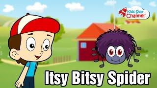 Itsy Bitsy Spider Songs Lyrics   Kids Songs Video   Kids Star Channel