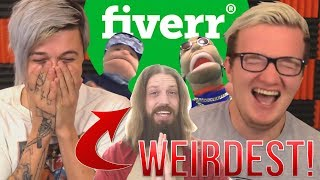 The WEIRDEST Things You Can PAY STRANGERS TO DO! (Fiverr)
