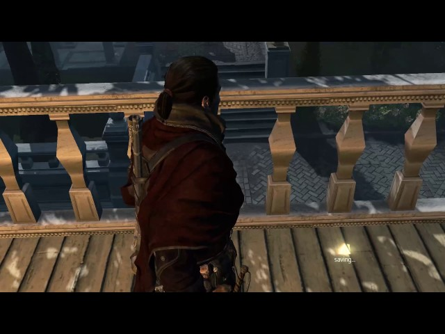 Assassin's Creed Rogue - What happens when you use ASSASSIN KILLER outfit on s6 m2 [spoilers alert]