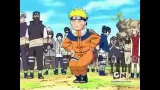 Funny Naruto acting like Girl Teasing Anko