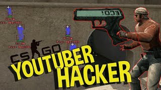 CS:GO FUNNY MOMENTS - YOUTUBER CAUGHT HACKING, CSGO ASMR & MORE (FUNNY MOMENTS)