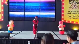 BTS Fire ~ Kpop/ Taekwondo Dance by Ocean at SAFRA Lil' Stars 2017
