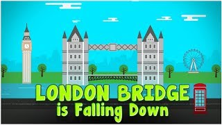 London Bridge Is Falling Down   Nursery Rhyme   Karaoke   Cartoons Central