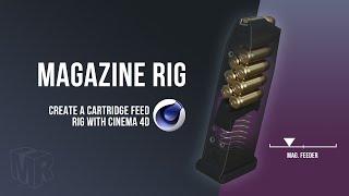 Create a Handgun Magazine Rig with Cinema 4D