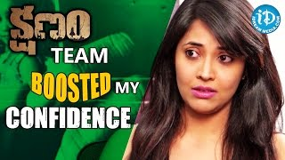 Kshanam Team Gave Me Lot of Confidence - Anchor Anasuya || Talking Movies With iDream