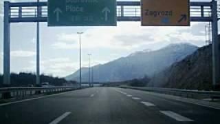 Autocesta A1 kod Zagvozda-Ima jedna duga cesta