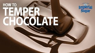 How to Temper Chocolate on a Cool Surface