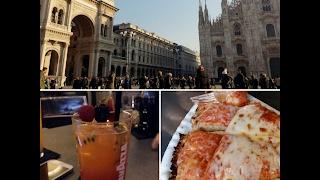 اخيرا شفت ميلانو مدينة الموضة والاناقة | Vlog#street food in Milan