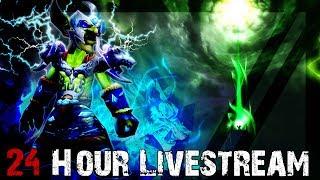 24 Hour Stream! World of Warcraft - Intense Elemental Gameplay - Not for Kids