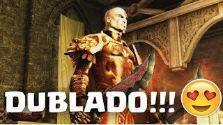 SAIU DUBLADO!!! God Of War 2 DUBLADO Em PORTUGUÊS Para PC e PS2