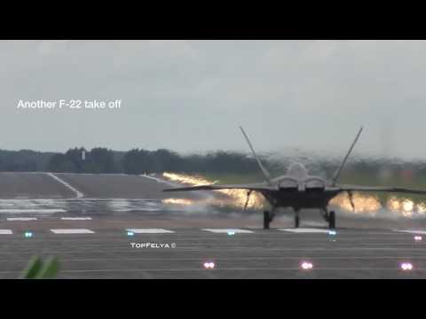 MIG 29 VS F 22 Raptor breathtaking vertical climb take offs. WARNIG LOUD VIDEO