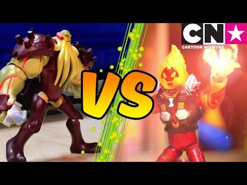 Xxx Mp4 Ben 10 Toy Play For Kids Ben Battles Vilgax With UPGRADED Aliens And Machines Cartoon Network 3gp Sex