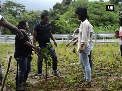 Xxx Mp4 Greening Garo Hills Campaign Launched In Meghalaya ANI News 3gp Sex