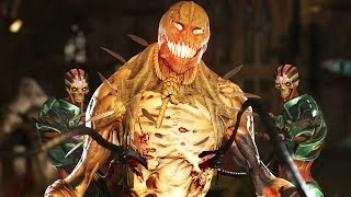 Injustice 2 All Super Moves on Scarecrow (No HUD) 4K UHD 2160p