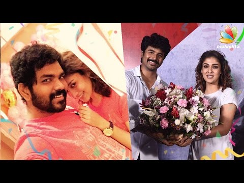 Nayanthara's Birthday with Vignesh Shivan, Sivakarthikeyan Celebration | Hot Tamil Cinema News