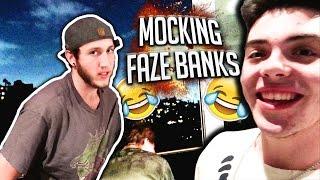Mocking FaZe Banks..(PART 2)