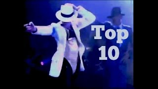 BEST DANCE MOVES - Top 10 / Michael Jackson