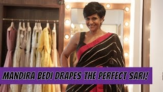 Mandira Bedi Shows You How To Drape The Perfect Sari