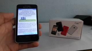 Alcatel One Touch Tribe OT-3040 telefon bemutató videó | Tech2.hu