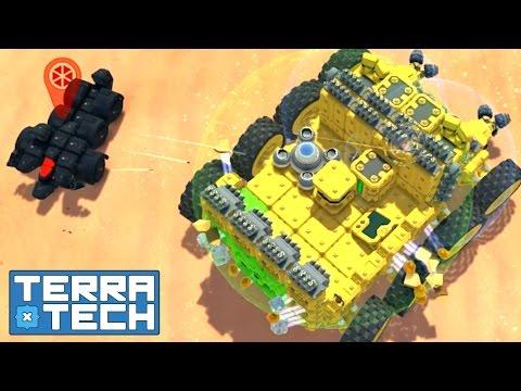 watch TerraTech - S2E16 Hawkeye Techs incoming! | Let's Play TerraTech Gameplay German Deutsch