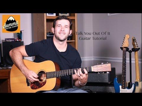 Florida Georgia Line - Talk You Out Of It - Guitar Tutorial