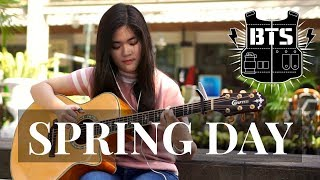 (BTS) Spring Day - Josephine Alexandra   Fingerstyle Guitar Cover