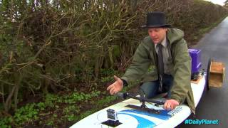 Crazy Inventor Colin Furze on Daily Planet